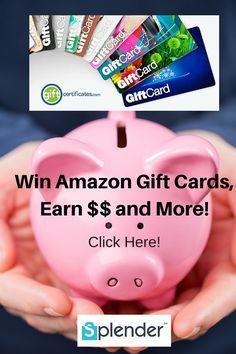 Win Amazon gift cards, Earn Cash Back and more from Splender #ShopSplender #ad