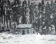 Cabin in the Woods by Jennifer Quail