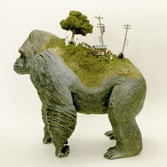Maico Akiba's Small Worlds. Japanese artist Maico... - SUPERSONIC ART