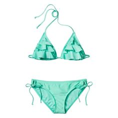 Xhilaration® Junior's 2-Piece Swimsuit -Mint