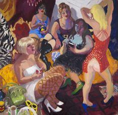 Wendy Sharpe, Demoiselles Darlinghurst, 2012