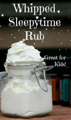 Whipped Sleepytime Rub - DIY Gift World