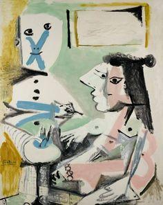 Pablo Picasso - Le Peintre et son Modèle, 1964