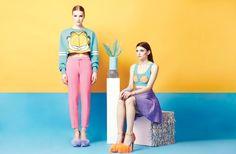 lazy oaf garfield clothing6 Lazy Oaf x Garfield: A Colorful Spring Collaboration
