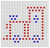 Ravelry: Train Bobble Chart Pattern by Kari Philpott