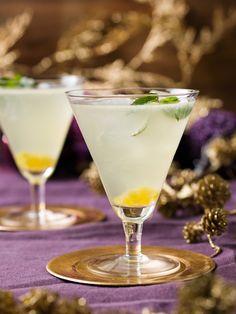 Gin-tonic à l'absinthe, ananas et jus de citron