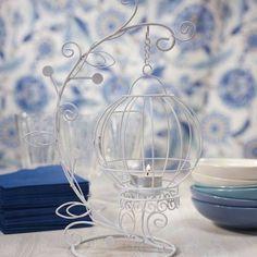 Gabbia romantica, ideale com'è centrotavola- www.emporioeventi.it