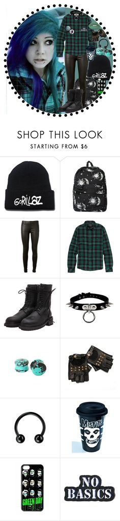 """""""Edgy Emo Kid"""" by chemicalfallout249 on Polyvore featuring Motel, AG Adriano Goldschmied, Ann Demeulemeester, Sourpuss, Hollywood Mirror, Dark, emo and alternative"""