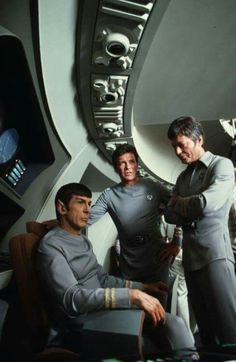 """There are three charaters called Spock, Kirk & McCoy in """"star trek"""" really…"""