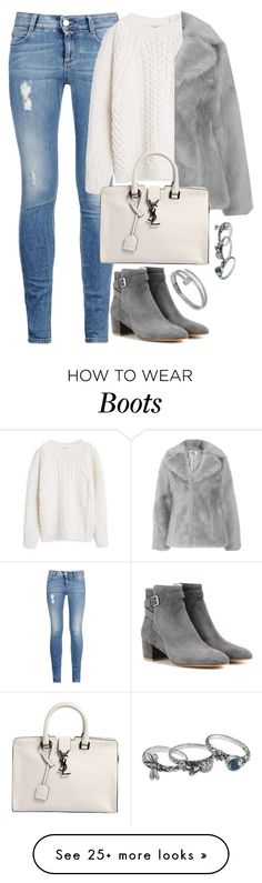 """""""Unbenannt #2008"""" by luckylynn-cdii on Polyvore featuring STELLA McCARTNEY, MANGO, Gianvito Rossi, Yves Saint Laurent, Cartier and NOVICA"""