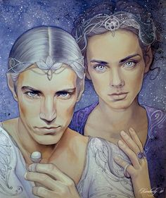 Doriath by kimberly80.deviantart.com on @deviantART. Thingol and Melian! :D I think Thingol is holding Nimphellos. :)
