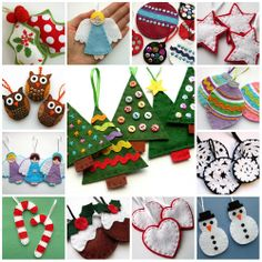 Bugs and Fishes by Lupin: Lots of Free Christmas Tutorials!