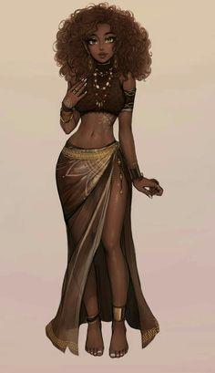 Art Black Love, Black Girl Art, Black Is Beautiful, Black Girl Magic, Black Girls Drawing, Beautiful Pictures, Black Art Painting, Black Artwork, Black Girl Cartoon