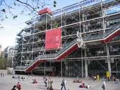 Centre National d'Art et de Culture George Pompidou, Paris Sydney Harbour Bridge, Times Square, Louvre, Paris, Building, Centre, Travel, Viajes, Buildings