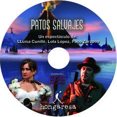 """Galleta DVD promocional para """"Patos salvajes""""."""