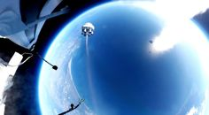 Zero 2 Infinity conducted a scaled-down test launch of a prototype balloon-rocket smallsat launch vehicle called Bloostar on March Balloon Rocket, Zero 2, Planets, Infinity, Balloons, Product Launch, Outdoor, Vehicle, March