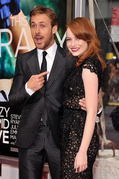 Here's Emma Stone and Ryan Gosling Being All Cute and Stuff