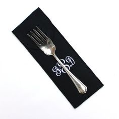 """Anti Tarnish Silverware Flatware Storage 3 1/2"""" x 10"""" flap bag for silver and silverplate serving pieces.  Find this and other premium anti tarnish bags and flatware rolls at SherwoodSilverBags.com or by clicking through to the Etsy shop. 2"""