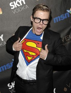 45. Derek Hough as SupermanYear: 2009With his blond hair and all-American good looks (not to mention his sexy dancer's body), Derek made a perfect Clark Kent/Superman hybrid.REALTED: 'DWTS' Celebritweets