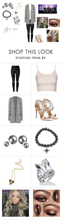 """""""City is Ours by Big Time Rush"""" by ocean-goddess ❤ liked on Polyvore featuring WithChic, Topshop, WearAll, Aquazzura, Bling Jewelry, Sydney Evan, Wolf & Moon and Palm Beach Jewelry"""
