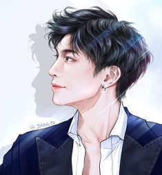 Kpop Drawings, We Meet Again, Lions, Fan Art, Cute, Anime, Pictures, Thailand, Sticker