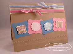 Ciao Baby Blog Tour - Andi Potler, Independent Stampin Up Demonstrator