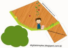 Kit de Artes Digitais Fazendinha para Meninos