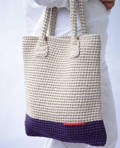 Quer inspiração para fazer lindas bolsas de crochê? Confira 21 lindos modelos, escolha o seu ou até mesmo para ganhar um extra!