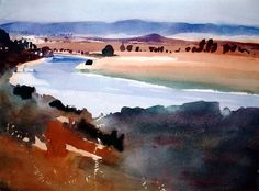 Ian Potts Artist / The sun has left but the mark remains - Spanish la...