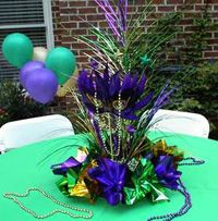 mardi gras theme in blue and purple | Mardi Gras Themed Party | Mardi Gras Themed Event