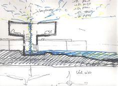 Bunker House,Sketch