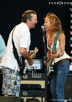 Sophie Clapton | Eric Clapton et Sheryl Crow, un couple country. - Photos