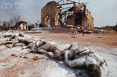 January 1969 Dong Lach near Bien Hoa Dong Nai Vietnam --- Bloated bodies of a Noth Vietnamese soldiers lie scattered around the ruins of a Roman Catholic church at Dong Lach near Bien Hoa. Vietnam January --- Image by Tim Page/CORBIS. Vietnam History, Vietnam War Photos, Louisiana, Bagdad, North Vietnam, American War, Vietnam Veterans, Roman Catholic, Military History