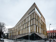 Frederiksberg Courthouse by Mike Dugenio Hansen, via Behance
