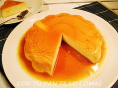 Con tu pan te lo comas: FLAN DE QUESO Y CUAJADA