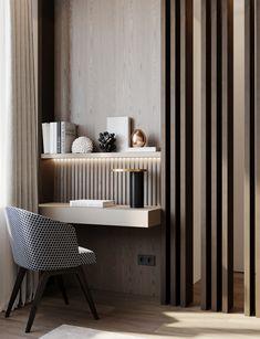 Bedroom Apartment Interior Design, Home Office Design, Interior Design Living Room, Living Room Decor, Interior Decorating, Bedroom Decor, Dressing Table Design, Master Bedroom Design, Interior Architecture