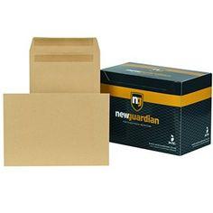 New Guardian Self-Seal Manilla Envelopes - Envelopes Envelopes, Seal, Office Supplies, Harbor Seal