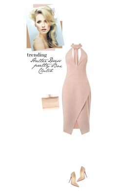"""Pretty Box Clutch"" by mcheffer ❤ liked on Polyvore featuring moda, Miss Selfridge, Christian Louboutin, women's clothing, women's fashion, women, female, woman, misses ve juniors"