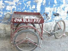 nayarit mexico arts and crafts | Scene from San Blas on Mexico's Nayarit coast. A three-wheel bicycle ...