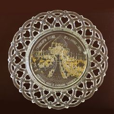 Just like the plate we have!  1904 World's Fair