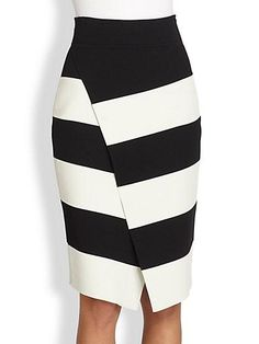 ALC Campbell Striped Skirt / Saks