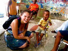 Sharing laughter in Haiti! Volunteers Around The World, Haiti, Laughter, Around The Worlds, Rice