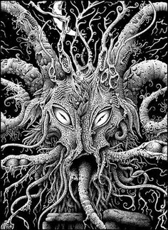 Whippoorwill Hollow • Dave Carson's Shub-Niggurath *** Ever their praises and abundance to the Black Goat of the Woods. Iä! Shub-Niggurath! Iä! Shub-Niggurath! The Black Goat of the Woods with a Thousand Young! ~from The Whisperer in Darkness, H.P. Lovecraft