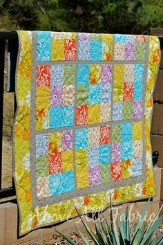 I have never been able to figure out Sudoku boards, so here's a quilt with a 'cheat sheet', problem solved!