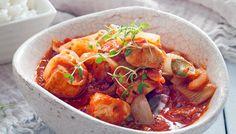 Punainen broileri-fenkolipata - K-ruoka
