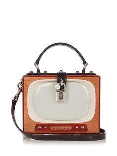 Dolce   Gabbana Dolce Box Retro TV box bag Accessorize Bags de4f80638eb2c