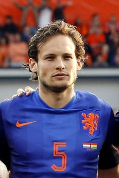 Daley Blind (Netherlands / Manchester United) :) I remember His father Danny who played for Oranje & Ajax many years ago!