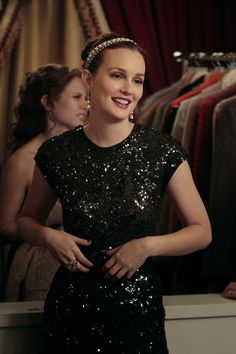 "Blair Sparkles in Couture on Gossip Girl S6 E5 ""Monstrous Ball"""