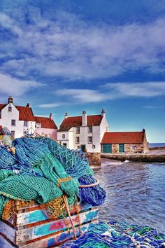 'The Gyles, Pittenweem' - Gill Bell | East Neuk of Fife | Scotland Travel, world, places, pictures, photos, natures, vacations, adventure, sea, city, town, country, animals, beaty, mountin, beach, amazing, exotic places, best images, unique photos, escapes, see the world, inspiring, must seeplaces.
