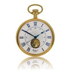 The traditional pocket watch has been reinvented and brought into the twenty-first century with the up-to-the minute styling of the Rapport Open Face Manual Wind Pock. Open Face, Pocket Watch, Manual, Watches, London, Shopping, Wrist Watches, Pocket Watches, Wristwatches